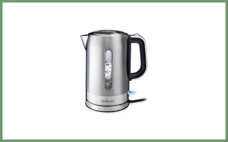 Cordless Electric Stainless Steel Tea Kettle By Brewberry Review