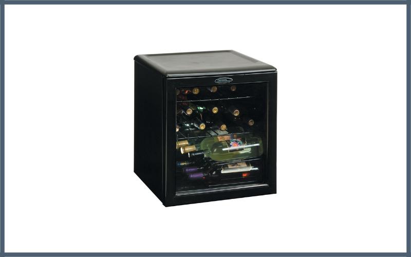 Danby Dwc172bl 18 Cu Ft 17 Bottle Counter Top Wine Cooler Review