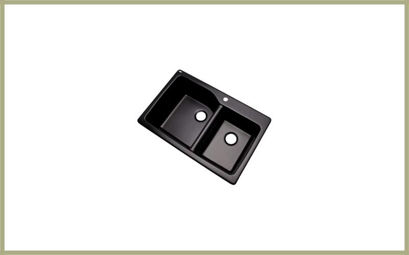 Dekor Sinks Venti Composite Granite Double Bowl Kitchen Sink Review