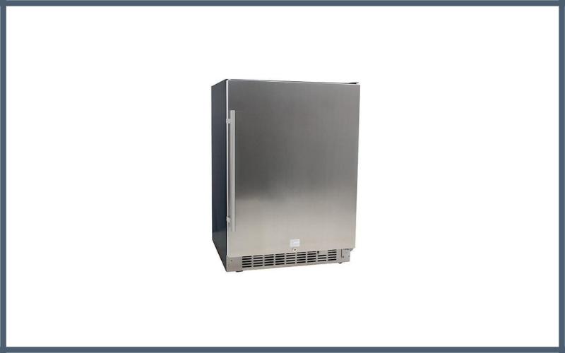 Edgestar Cbr1501sld 5.49 Cu Ft Edgestar 142 Can Built In Stainless Steel Beverage Cooler Review