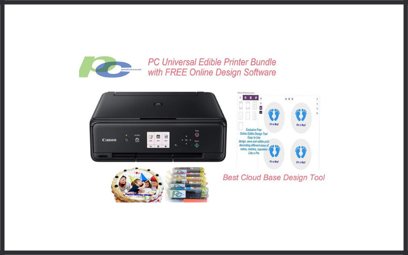 Edible Printer Bundle Brand New Canon All In One Printer With Edible Paper And Inks Review