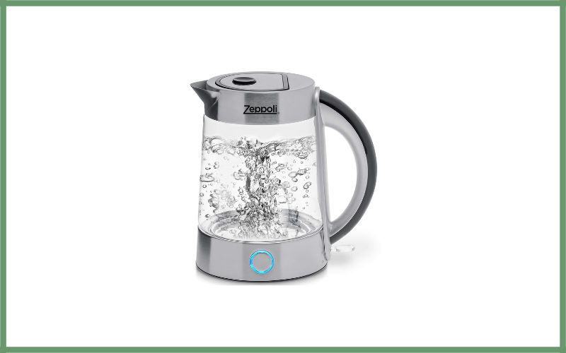 Fast Boiling Electric Glass Tea Kettle By Zeppoli Review