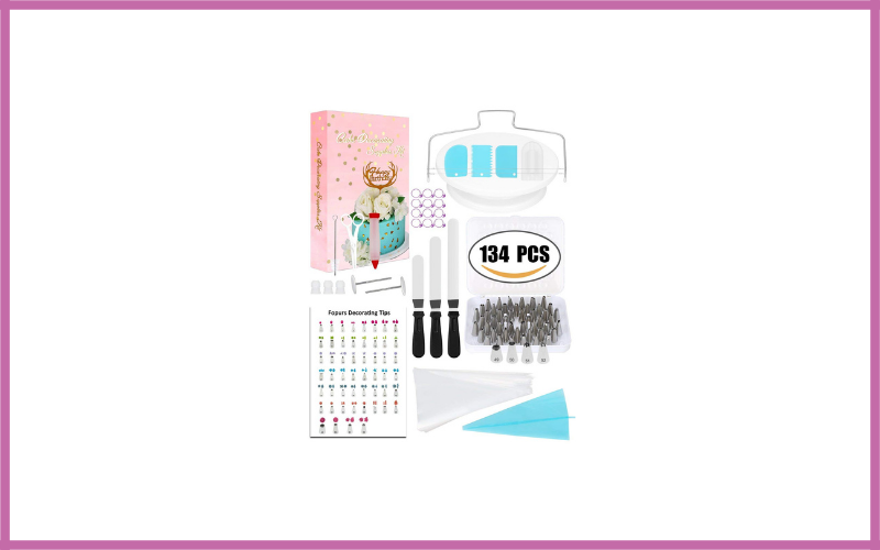 Fopurs 134pcs Cake Decorating Supplies Kit Review