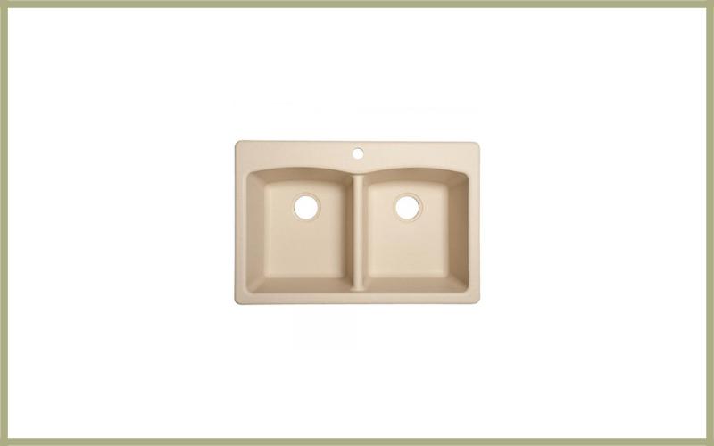 Franke Ellipse 33″ Dual Mount Granite Double Bowl Kitchen Sink Review