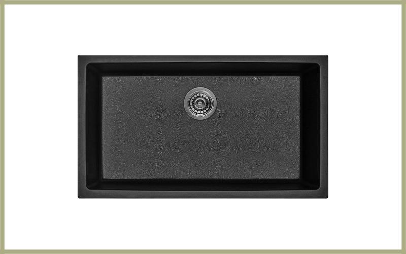Hoch Int'l Imports, Ltd. G 3218s Bl, Black Composite Single Bowl Kitchen Sink Review