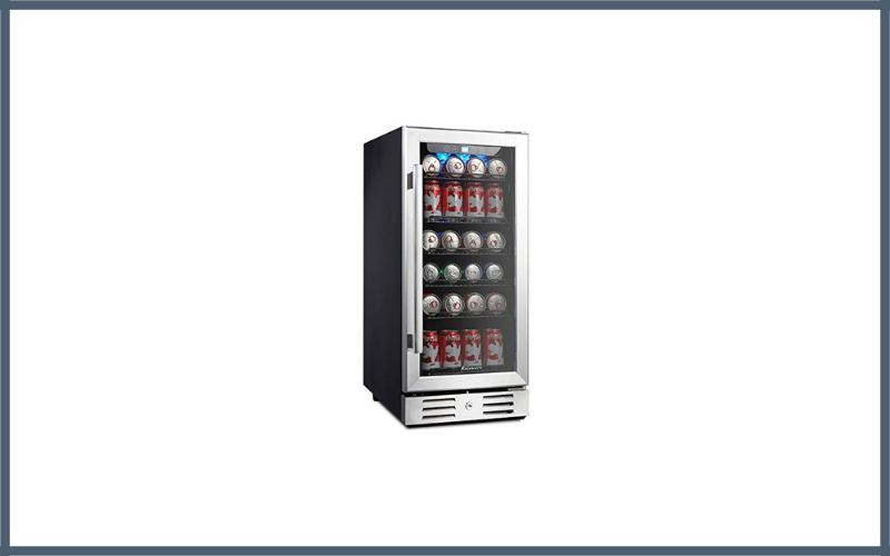 Kalamera 15 Beverage Cooler 96 Can Built In Single Zone Touch Control Review