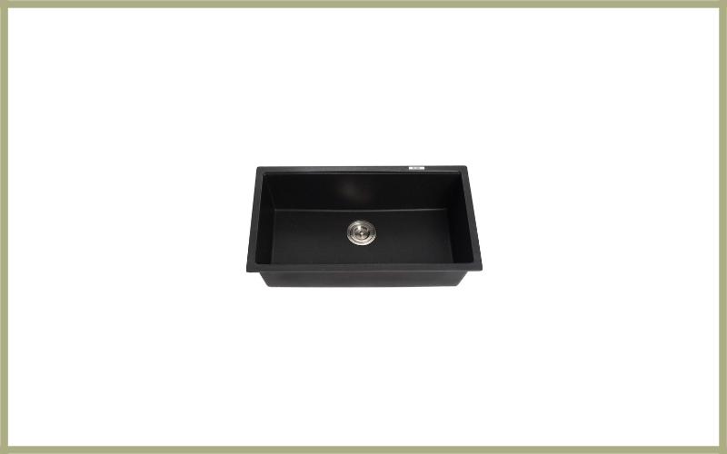 Kraus Kgu 413b 31 Inch Undermount Single Bowl Black Onyx Granite Kitchen Sink Review