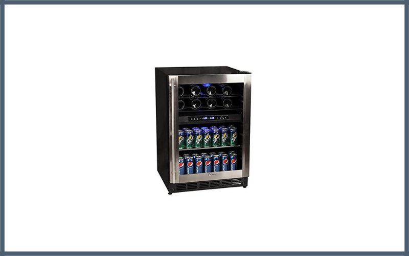 Magic Chef 44 Bottle Stainless Dual Zone Wine Beverage Cooler Review