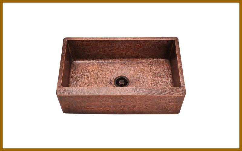 Mr Direct 913 Single Bowl Copper Apron Sink Review