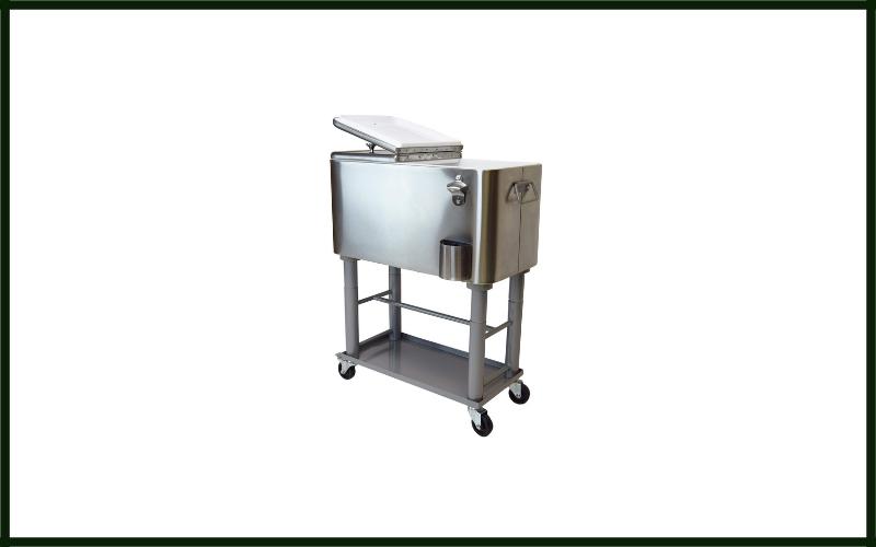 Oakland Living Az91008 60 S Stainless Steel 15 Gallon Cart Outdoor Cooler Review
