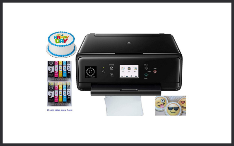 Procolor Edible Printer Complete Bundle With New Wireless Printer Review