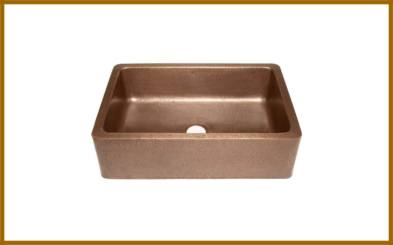 Sinkology Adams Farmhouse Apron Front Handmade Copper Kitchen Sink Review