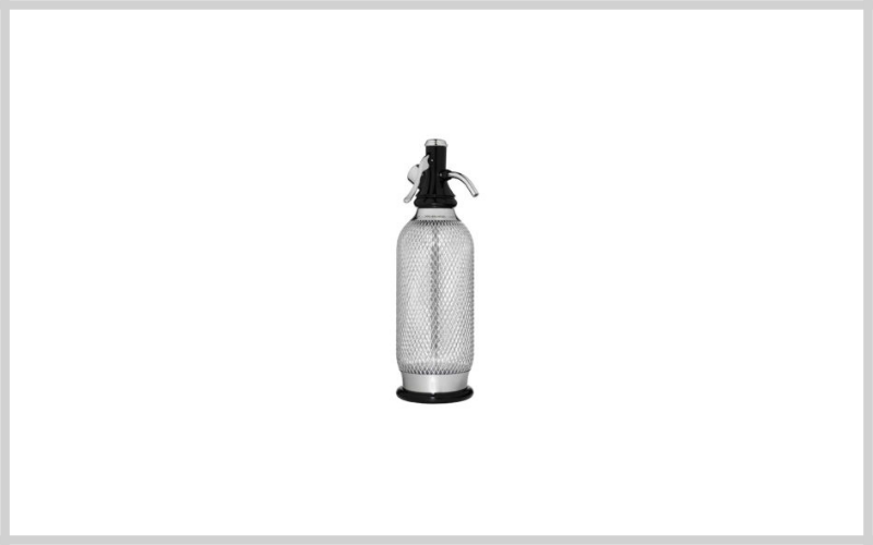 Sodamaker Classic Mesh 1 Quart Soda Siphon Bottle By Isi North America Review