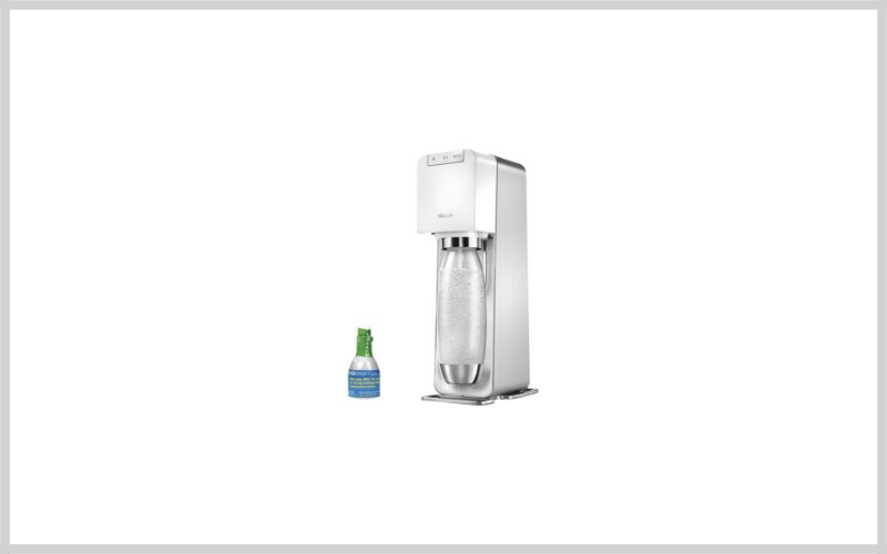 Sodastream Power Metal Sparkling Water Maker Starter Kit Review