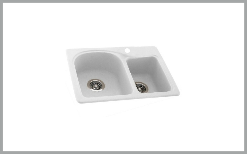 Swanstone 25 Inch X 18 Inch Super Saver Double Bowl Kitchen Sink Review