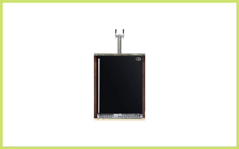 Beer Meister Dual Tower With Black Door Built In Kegerator Premium Series Review
