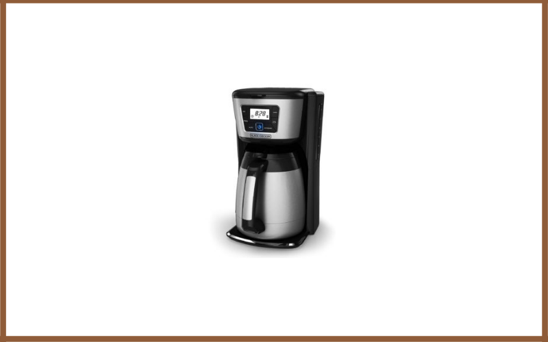Black And Decker 12 Cup Thermal Coffeemaker Review