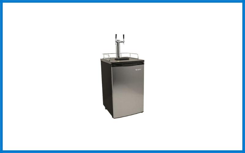 Edgestar Kc2000sstwin Full Size Stainless Steel Dual Tap Kegerator & Draft Beer Dispenser Review