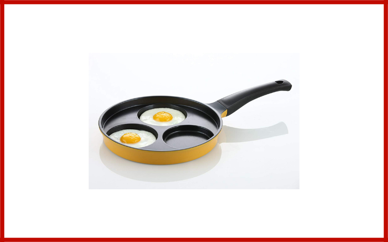 "Flamekiss 9.5"" Ceramic Coated Nonstick 3 Cup Egg Cooker Pan By Amore Kitchenware Review"