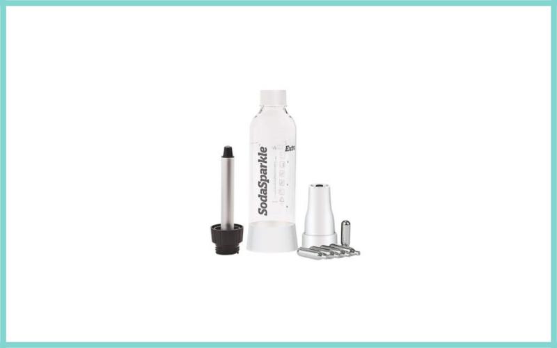 Home Soda Maker Kit Easy To Use Sparkling Carbonated Seltzer Beverage Maker By Sodasparkle