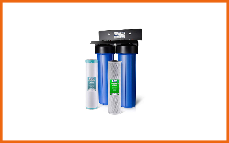 iSpring WGB22BM 2-Stage Whole House Water Filtration System Review