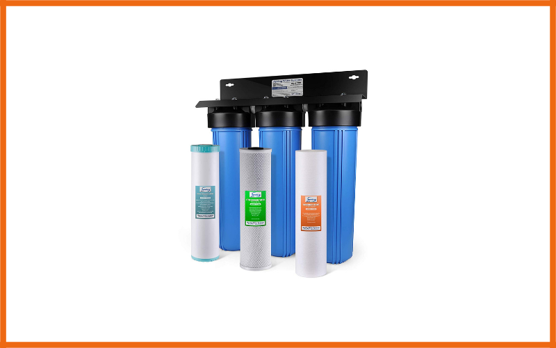 iSpring WGB32BM 3-Stage Whole House Water Filtration System Review