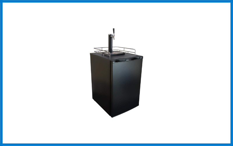 Kegermeister Km2800bk Kegerator Full Size Single Tap Beer Refrigerator And Dispenser Review
