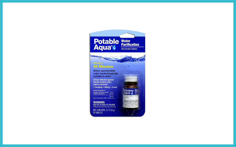 Potable Aqua Water Purification Treatment Review