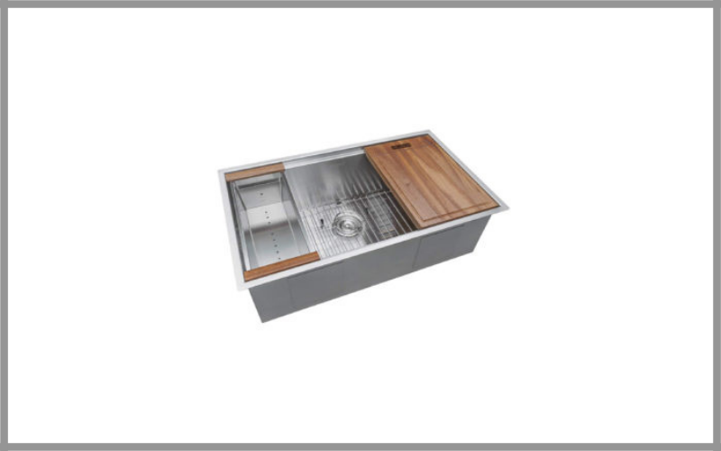Ruvati 32 Inch Undermount 16 Gauge Stainless Steel Kitchen Sink Single Bowl Review