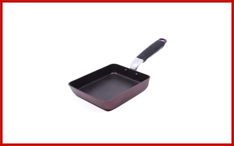 Tamagoyaki Japanese Egg Pan Coated With Dupont Teflon Coating By Techef Review