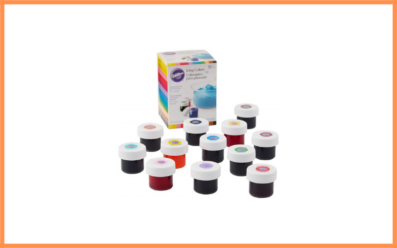 Wilton 12 Count Gel Based Icing Colors Review