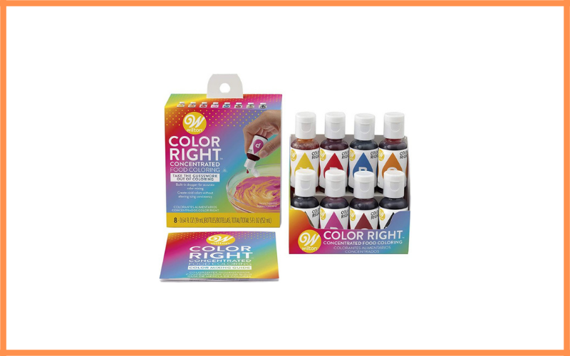 Wilton Color Right 8 Base Color Kit Review
